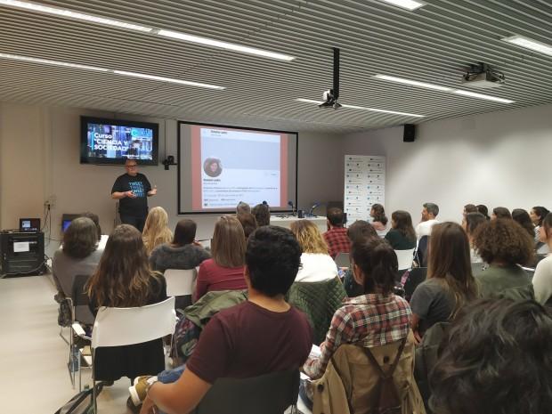 Redes sociales en el Curso Ciencia y Sociedad de CICA-UDG